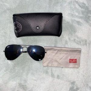 Ray-Ban Aviator Sunglasses & Case